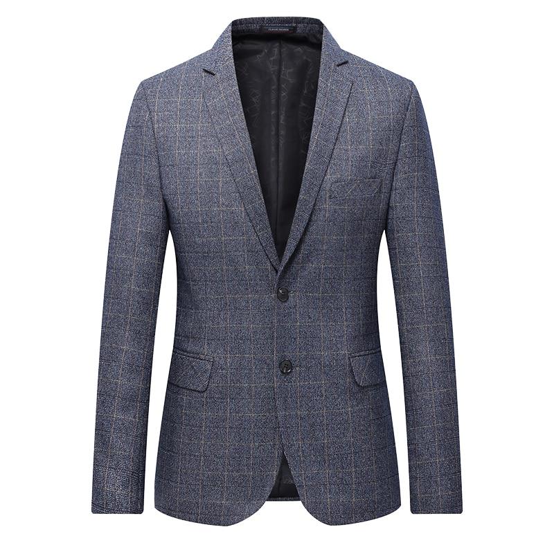 Top Quality Men Casual Blazer Plus Size 2019 Spring Hot Sale Business Blazer Coats Mens Formal Wear Suit Jackets 7XL 6XL 5XL 4XL