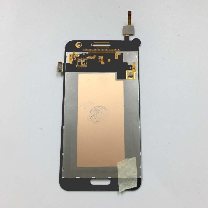 imágenes para Blanco Pantalla Táctil Digitalizador Del Sensor de Cristal + Pantalla LCD Montaje Del Monitor de pantalla Para Samsung Galaxy Core 2 G355 G355H G355M