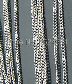jewelry Jewelry Findings & Components Connectors 0.8MM fine chain locally approved flowers * link fitting clasp chain