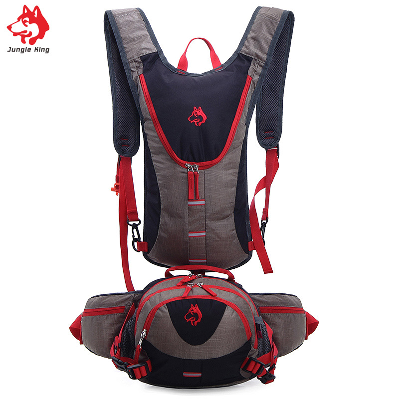 Jungle King 2017 outdoor climbing bag bag plus pocket profession multifunctional bag backpack Hiking riding backpack wholesale in Running Bags from Sports Entertainment