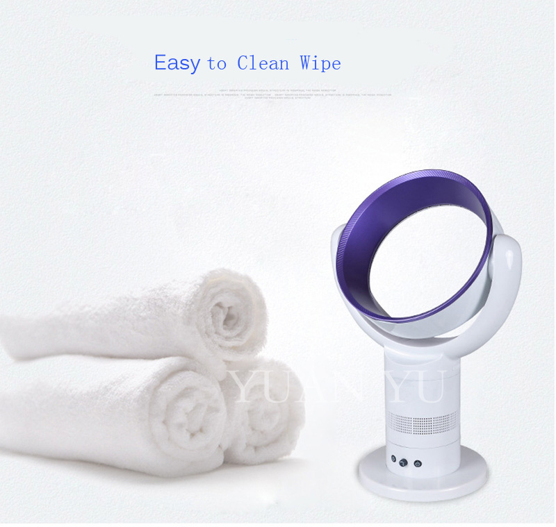 New Arrivals Summer Electric Husehold Remote Controlled Bladeless Fan  Adjustable Speed Cooler Portable Tabletop Air Conditioner In Fans From Home  Appliances ...