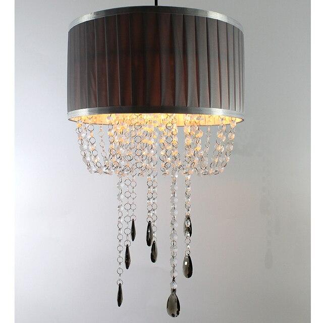 Sunli Maison Moderne Lustre Tissu Lustre Acrylique Plafond Lustre