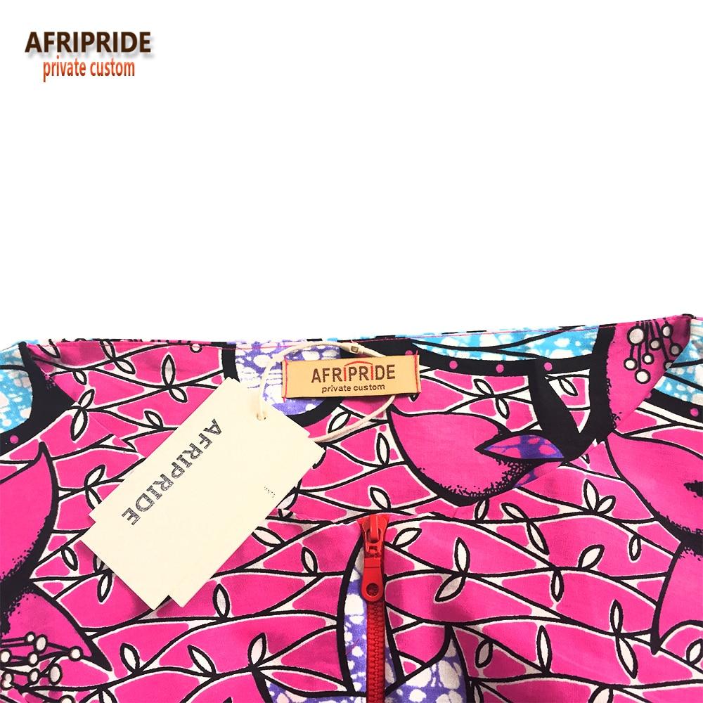 Ensemble jupe africaine traditionnelle 2 pièces pour femme AFRIPRIDE - Vêtements nationaux - Photo 3