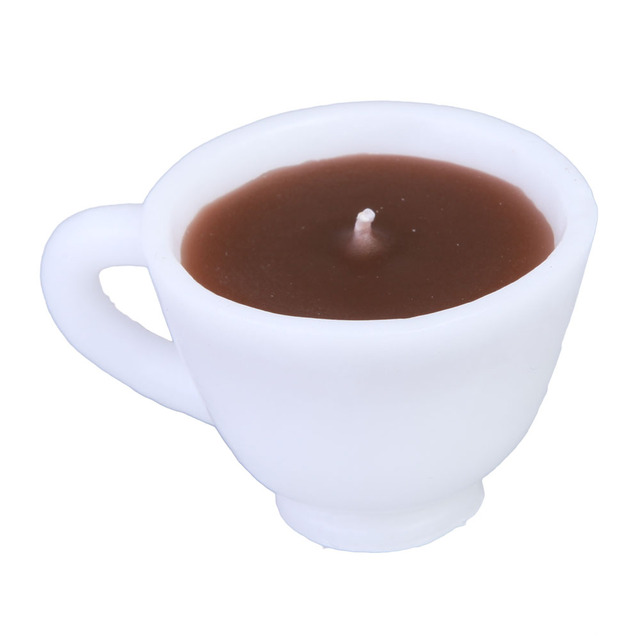 Coffee Cup Scented Candle