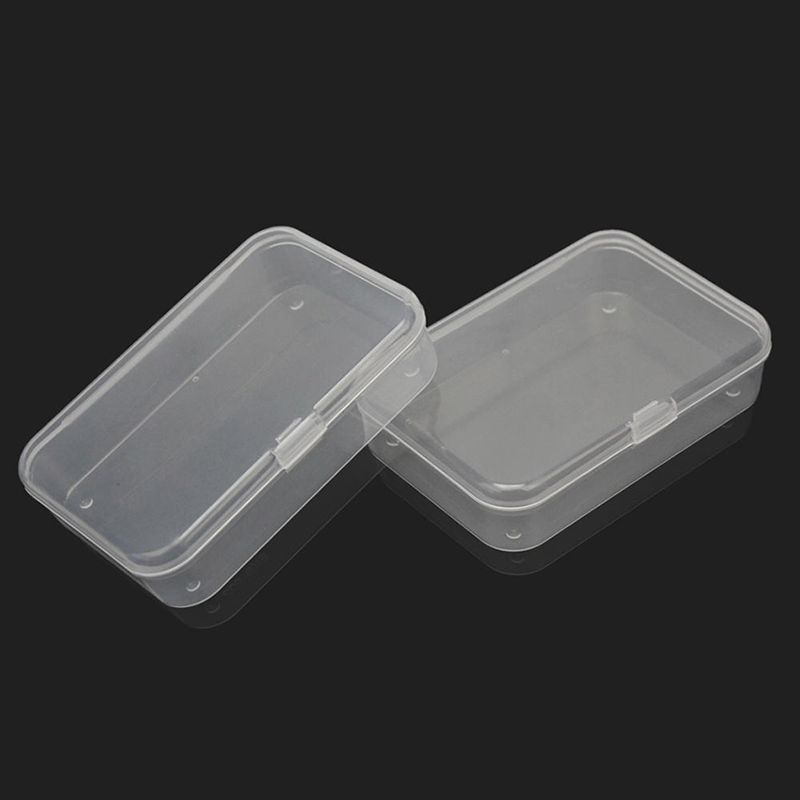 1X Plastic Storage Box Playing Cards Case Business Card Holder ...