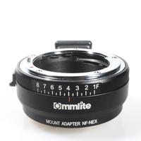Commlite for Nikon G,D,F,AI,S Type Lens to Sony E Mount Camera for Nikon G NEX Camera Adapter CM NF NEX Lens Mount Adapter r25