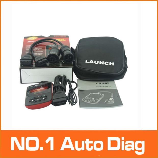 Цена за 100% оригинал Новый Онлайн-Обновление Тяжелый Грузовик Code Reader Launch CR-HD, CR-HD грузовик code reader Бесплатная доставка