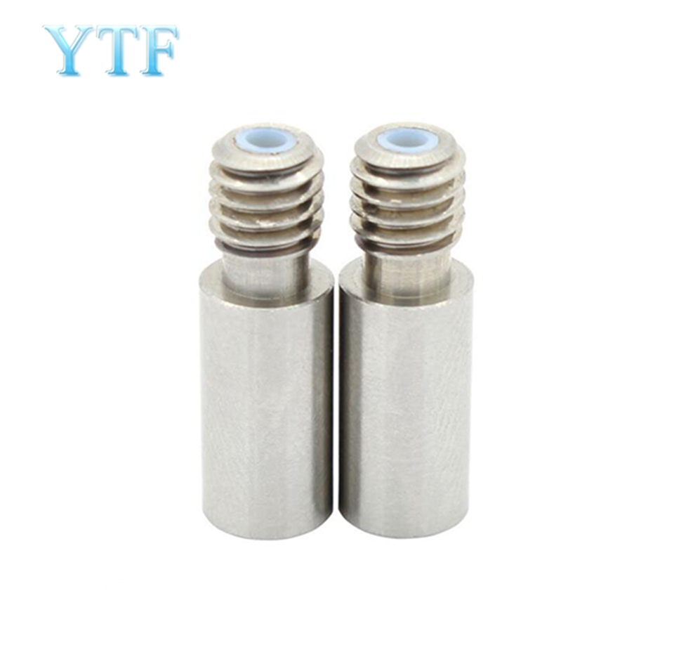3D Printer Parts Single-headed Two-color Hose DIY Stainless Steel Teflon Tube Feed Extrusion 1.75mm