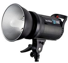 лучшая цена Godox DE-300 DE300 300W Compact Flash Strobe Studio Lighting Head Bowens Mount Speedlite