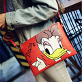 Women Clutch Bag Mickey Messenger Bags Minnie Handbag Daisy Duck Leather Handbags Bolsa Feminina Bolsas Feminina