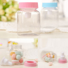candy box bag chocolate gift baby bottle for Birthday Wedding Party Decoration craft DIY favor baby shower Wh(China)