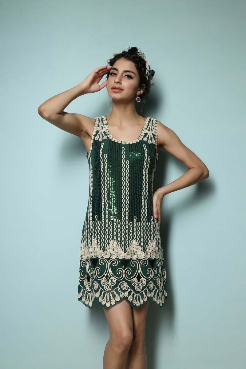 Dresses for high school Vintage 1920s Gtasby Charleston Flapper ...