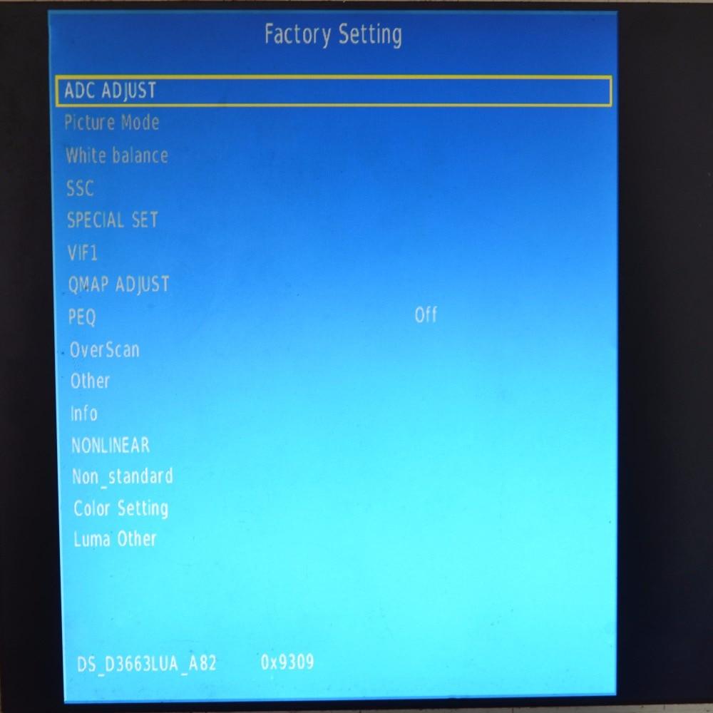 de driver lcd suporte DVB-T2 tv +