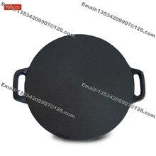 40 см плита чугунная Блинная сковорода