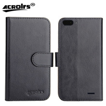 Archos Core 55S Case 6 Colors Dedicated Leather Exclusive 100% Special Crazy Horse Phone Cover Cases Card Wallet+Tracking