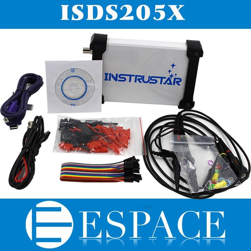 ISDS205X仮想pcのusbオシロスコープdds信号とロジック·アナライザ2ch 20 mhzの帯域幅48msa/s 8ビットadc fftアナライザ  グループ上の ツール からの オシロスコープ の中 1
