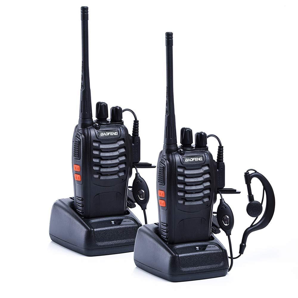 Baofeng BF 888s Talki Transceiver Radio-Station UHF Portable 1pc/2pcs 16CH 400-470mhz