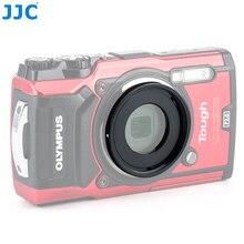 JJC 40.5mm filtre filetage monture lentille adaptateur anneau pour Olympus TG 6 dur TG 5 TG 4 TG 3 TG 2 TG 1 FCON T01 TCON T01 comme CLA T01
