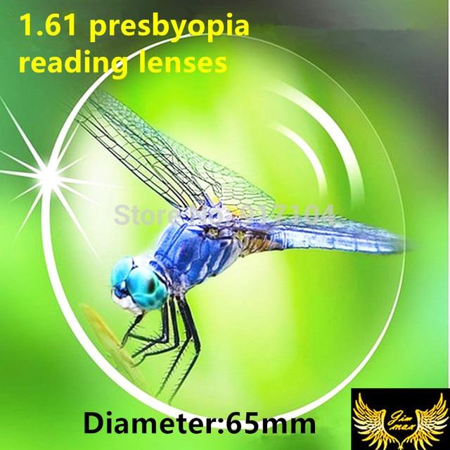 1.61 presbyopia aspheric lenses quality super thin CR39 resin lens for filling a prescription far sight reading glasses lenses