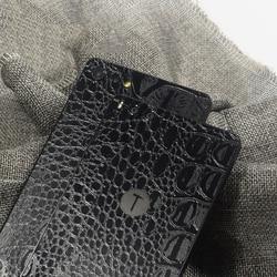 Crocodilo Padrão de pele de Cobra de Volta Decorativo Para Smartisan Telefone Protector Porca Porca Pro 2 Pro2 Volta Filme Adesivos AE Saver Navio