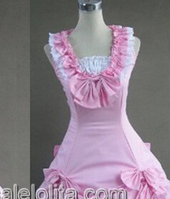 Hot Sale Sweet Pink Victorian Lolita Dress