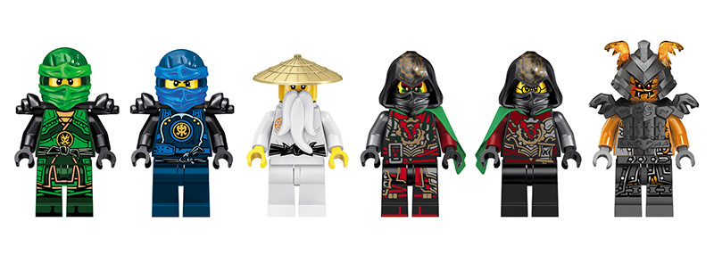 UKLego Ninjago VS Snake Boss Time Armour Snake Toy