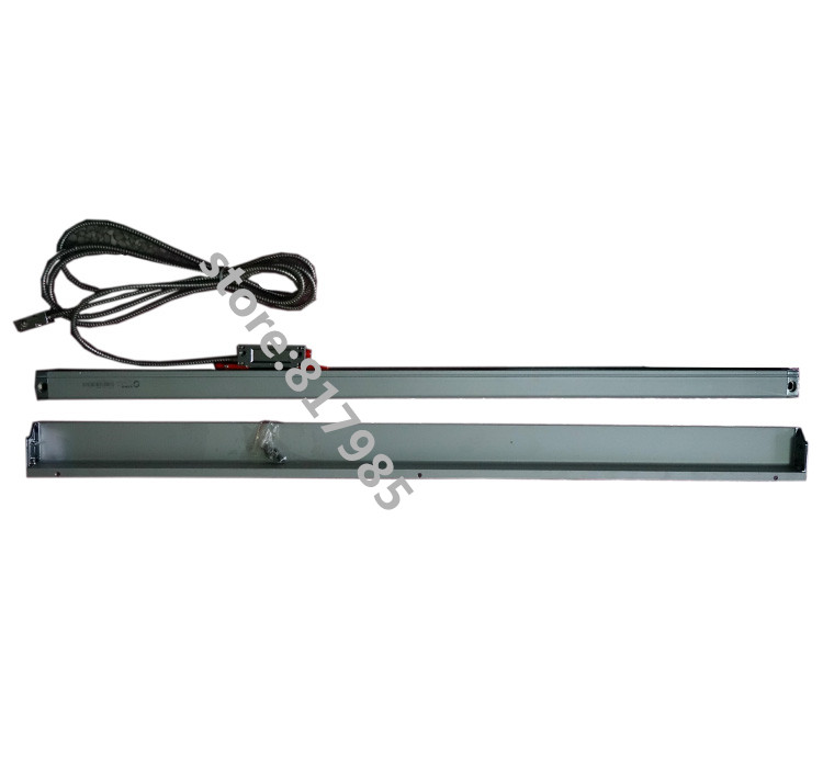 Sino KA600 1500mm linear scale 5micron SINO linear encoder with protection cover for milling lathe wire cutting machine 2016 hxx 1um optical glass scale with 650mm travel length for wire cutting machine