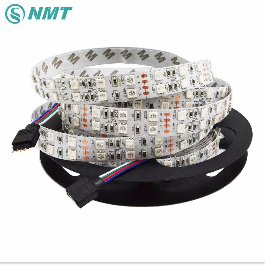 5m DC12V LED Strip 5050 120leds/m Doubles