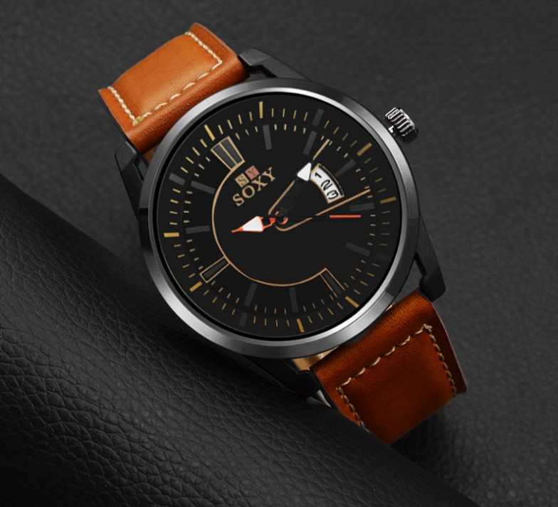 goede kalender quartz horloge Mannen quartz horloge Business Fashion - Herenhorloges - Foto 3