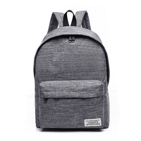 Simple Canvas Backpack Male High Quality School Bag Laptop Backpack Female Travel Men Bagpack Casual Stachels