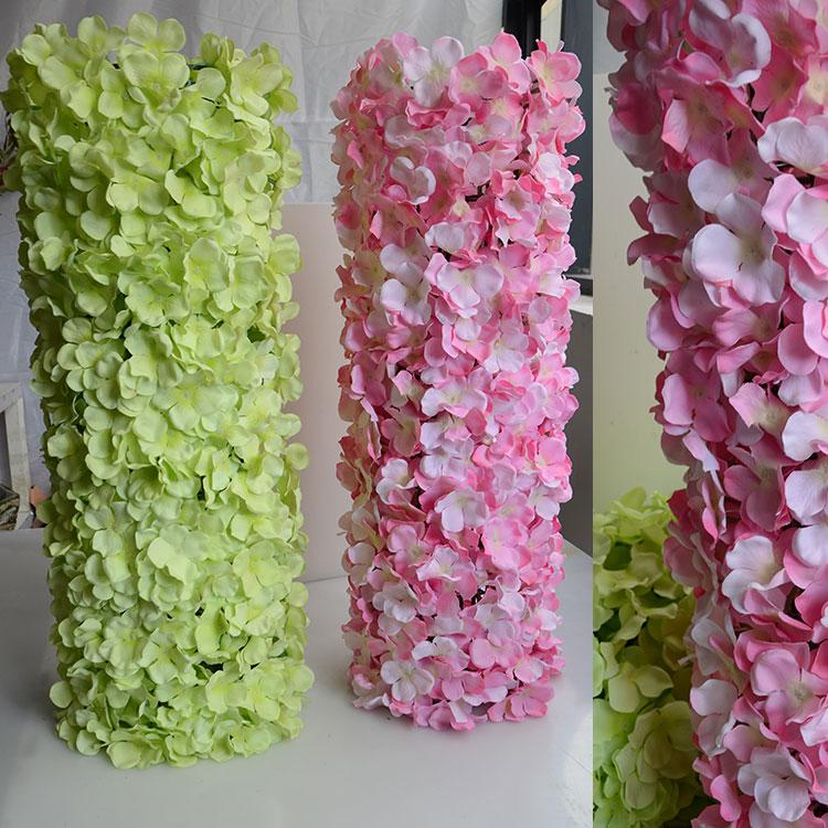 60 * 40cm Hydrangea DIY huwelijksboog instellen wanddecoratie Road - Feestversiering en feestartikelen - Foto 3