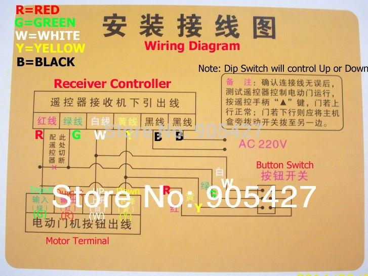 Shutter Motor Electrical Diagram
