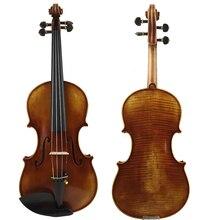 Free Shipping Copy Guiseppe Guarneri del Gesu II 1743 Violin FPVN04 Oil Varnish 100% Handmade Case Carbon Fiber Bow Master level