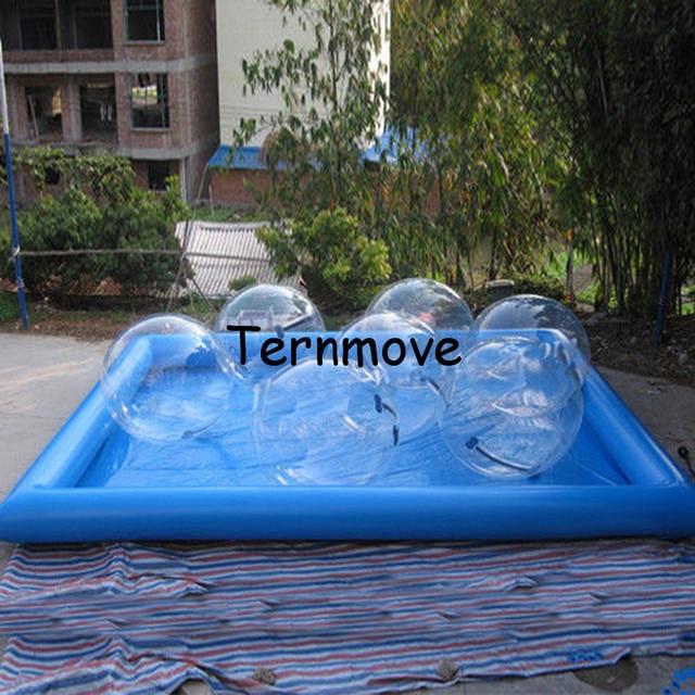 Piscina de gua infl vel gigante aluguel de piscinas for Piscina de bolas minibe