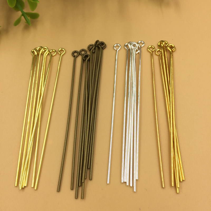 Aliexpress.com : Buy 50pcs/lot Copper Gold Silver Color