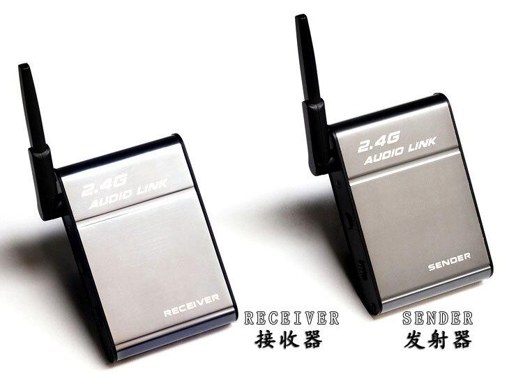 50M 무선 스피커 어댑터 범용 2.4 gh Z 무선 송신기 수신기 오디오 뮤직 박스 미디어 아이폰에 대 한 IPad BHX501