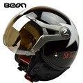 Fashion brand Beon vintage motorcycle helmet Scooter open face helmet B-100 helmet  lucky star helmet moto casco ECE