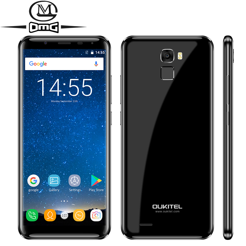 Oukitel K5000 5000mAh Smartphone Android 7 0 4 RAM 64G ROM 18 9 HD Full Screen