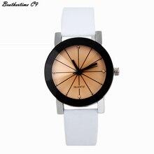 New Design Casual Watches Women Leather Strap Analog Hour Ladies Quartz Wrist Watch Dress Clock Feminino
