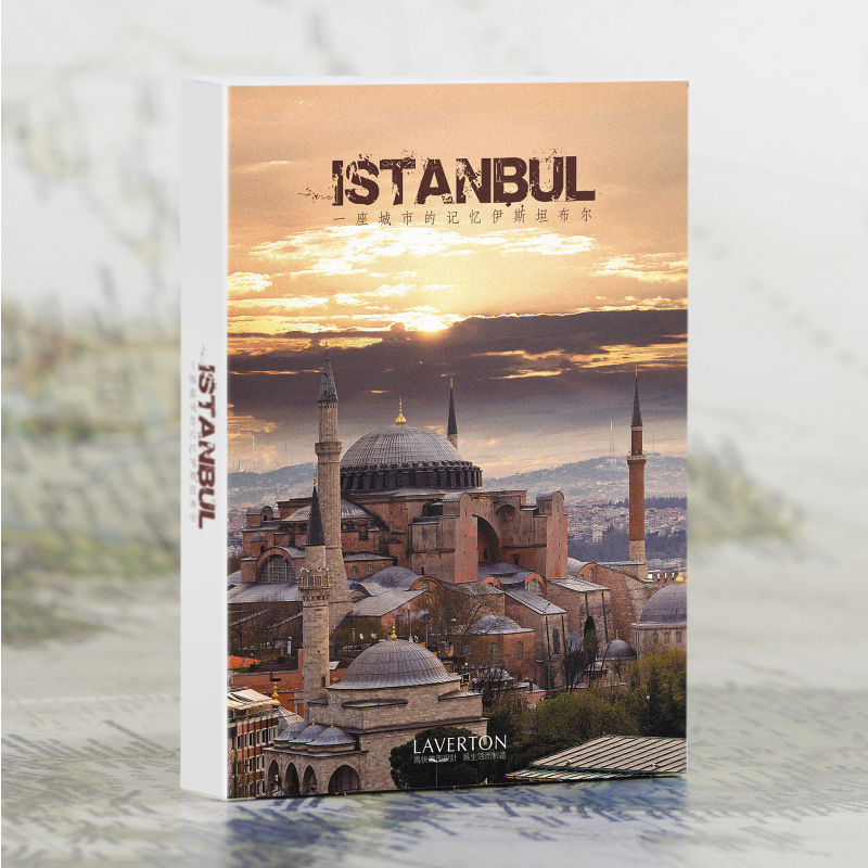 30 sheets/LOT Take a trip to <font><b>Istanbul</b></font> Scenery Postcard /Greeting Card/Wish Card/Christmas and New Year gifts image