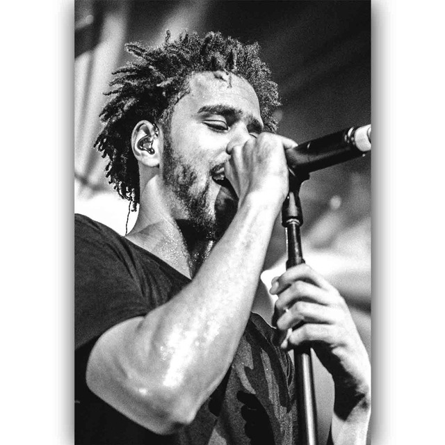 J1137 new j cole music star classic pop 14x21 24x36 inches silk art poster top