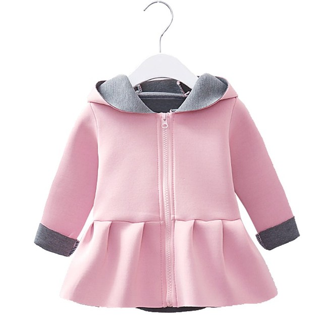 841531a2bc5c Spring Autumn Winter Baby Girls Clothes Cute Baby Outerwear Infant ...