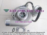 Turbo GT2560S 785828 768525 5010 S 785828 5005 S 2674A806 2674A812 Perkin строительство EPA Tier 3 электронные под заправку 4.0L 06