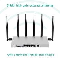 Модем 4G LTE маршрутизатор Wi-Fi sim-карта gigabit 1200 Мбит/с металлический корпус 512 Мб DDR2 5 г двухдиапазонный Wi-Fi ретранслятор точка доступа