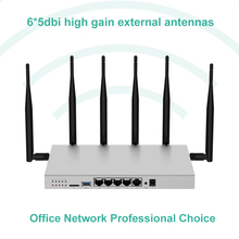 Modem 4g lte router wi-fi sim card gigabit 1200Mbps metal housing 512MB DDR2 5G dual band wifi repeater access point