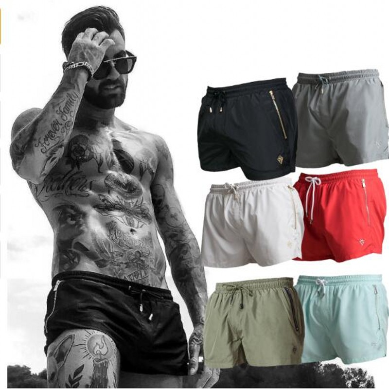 Mesh Shorts Fitness-Clothing Bodybuiding Gyms Casual Bermuda Sporting Summer Dry Men