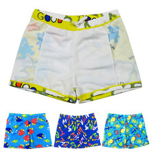 Cartoon Printed Toddler Baby Kid Child Swimming Trunks Swimsuit Beach Swimwear Shorts ages 3 to 8 Boys Summer Swim Wear(China)