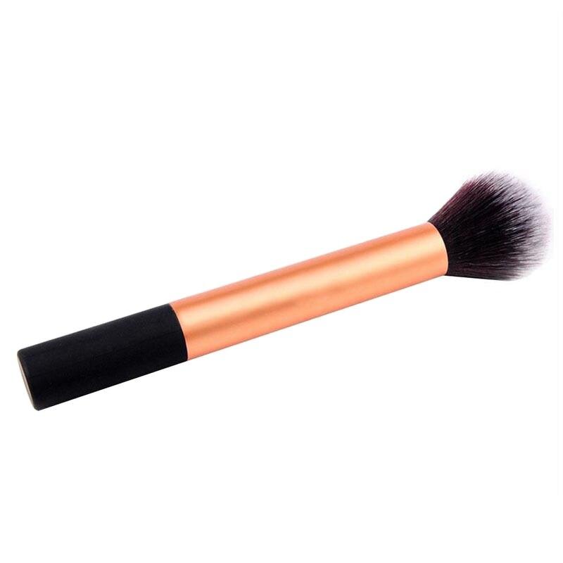 Flat Foundation Face Blush Kabuki Powder Contour Makeup Brush Cosmetic Tool Hot Flat Foundation cute bird chiffon top