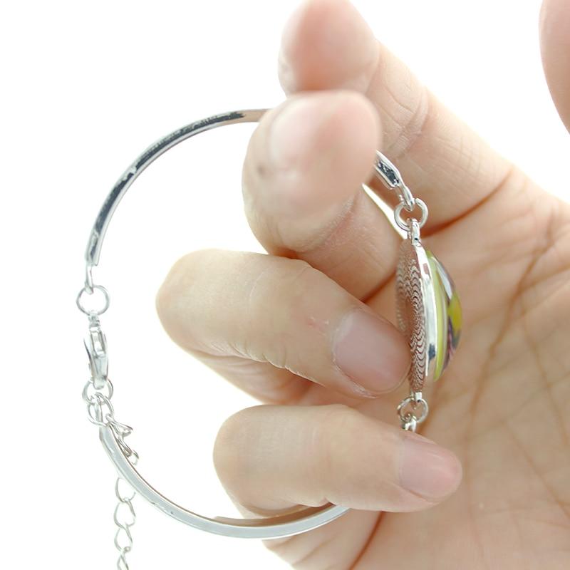 Image 4 - JWEIJIAO Muslim Allah Metal Chain Bracelet Women Men Islam Arabic  God Messager  Silver Color Muhammad Quran Middle MU12Chain