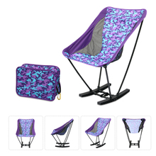 Folding Fishing Chair Seat with Bag Aluminum Portable Durable Oxford Fabric Chairs for Outdoor Garden Camping Picnic Beach BBQ